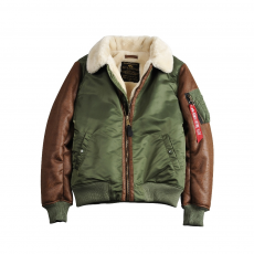 Alpha Industries B3 M - sage green
