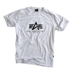 Alpha Industries Basic T - világos szürke póló