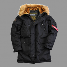 Alpha Industries Explorer Down - fekete