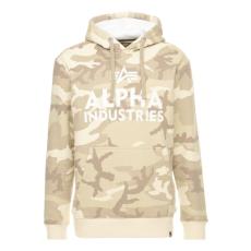 Alpha Industries Foam Print Hoody - desert camo