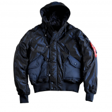 Alpha Industries Hunter - replica blue