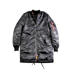 Alpha Industries MA-1 Coat - black camo