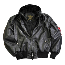 Alpha Industries MA-1 D Tec FL - fekete/fekete