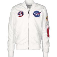 Alpha Industries MA-1 TT NASA Reversible II - fehér