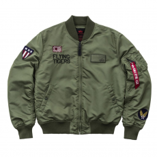 Alpha Industries MA-1 VF Flying Tigers - sage green