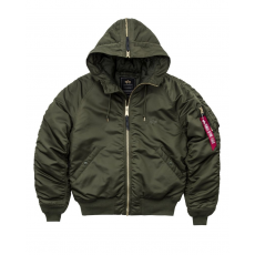 Alpha Industries N2B VF PM - dark green