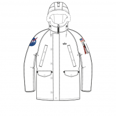 Alpha Industries N3-B VF 59 BN NASA WMN - fehér