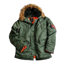 Alpha Industries N3B VF 59 Női - sage green női dzseki, kabát