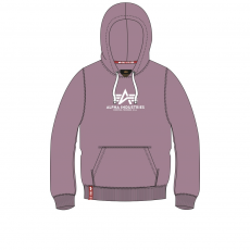 Alpha Industries New Basic Hoody - mauve kapucnis pulóver