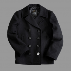 Alpha Industries Peacoat USN - fekete