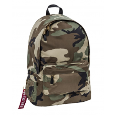 Alpha Industries PILOT BACKPACK - wood camo65