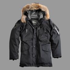 Alpha Industries Polar Jacket Down RF - fekete
