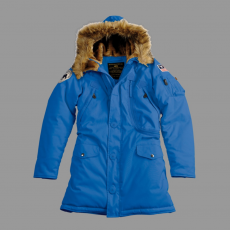 Alpha Industries Polar Jacket Női - royal