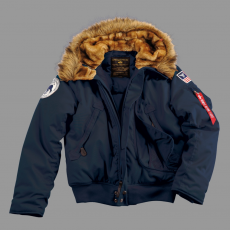 Alpha Industries Polar Jacket SV - replica blue