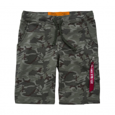 Alpha Industries X-Fit Cargo Short - wood camo