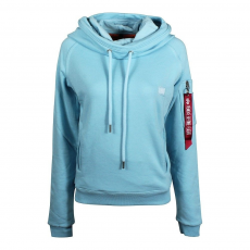 Alpha Industries X-Fit Hoody női - air blue