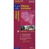 Alsace / Lorraine térkép - IGN R05