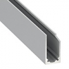 Alu profil eloxált (I10) LED szalaghoz