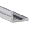 Aluminium L profil LED szalaghoz 16x10 mm (ezüst)
