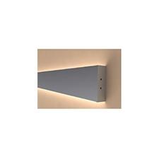Aluminium profil eloxált (ALP-050) LED szalaghoz, opál villanyszerelés