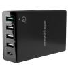 AlzaPower M5CQ Multi Charge QC3.0 fekete