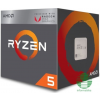 AMD Ryzen 5 2400G 3.6GHz Socket AM4 dobozos /YD2400C5FBBOX/ (YD2400C5FBBOX)