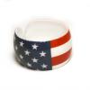 Amerikai zászlós műanyag karkötő