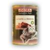 Amora Fleisch pur Katze 400g Lazac & Makréla