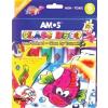 AMOS Üvegfóliafesték készlet, 6 különbözõ szín