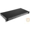 "AMP 19"" ST optikai panel, üres, 24db toldóhoz, (220mm mély) fekete (1206480-8)"