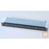 AMP Cat.5E STP 24 portos patchpanel, 1U, v.szürke (336671-2)