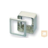 AMP Kiemelőkeret DIN előlapokhoz és díszkerethez, fehér vagy bézs (2-966740-1)