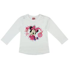 Andrea Kft. Disney Minnie hosszú ujjú lányka póló (méret: 80-122)