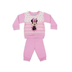Andrea Kft. Disney Minnie lányka pizsama szíves| csíkos 20620045116