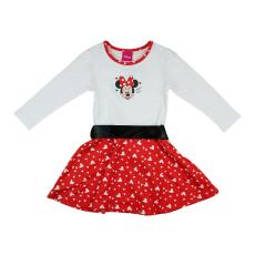 Andrea Kft. Disney Minnie szívecskés derékszalagos ruha 23406009110