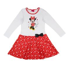 Andrea Kft. Disney Minnie szívecskés hosszú ujjú ruha 23405009110