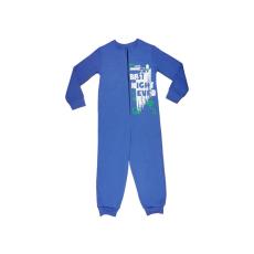 Andrea Kft. Fiú cipzáras overálos pizsama