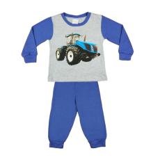 Andrea Kft. Traktor mintás fiú hosszú pizsama