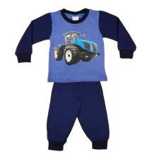 Andrea Kft. Traktor mintás fiú hosszú pizsama 20352902098 gyerek hálóing, pizsama
