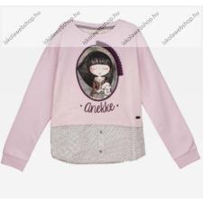 Anekke gyermek pulóver, rózsaszín, 11-12 év (RH6138) gyerek pulóver, kardigán