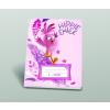 AngryBirds Füzet(12-32)A5 3.o.VONALAS AngryBirds MOVIE GIRLS HippieChick20db/cs