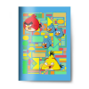 AngryBirds Füzet (81-32) A4 VONALAS Angry Birds Classic <20db/csom>