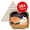 Animonda 36x100g Animonda vom Feinsten Adult ízletes töltelékkel nedves macskatáp-Csirke, marhahús & sárgarépa