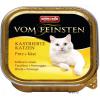 Animonda 6x100g Animonda vom Feinsten kasztrált macskáknak-pulyka & sajt