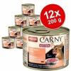 Animonda Carny Kitten 12 x 200 g - Mix: marha, csirke & nyúl + marha, borjú & csirke