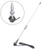 Antenna spirálos króm 50cm JBA-305