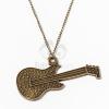 Antikolt gitár medálos nyaklánc jwr-1163