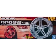 AOSHIMA 1/24 Work Gnosis GS2 felni és gumi szett modell kiegészítő rc modell kiegészítő
