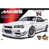 AOSHIMA - Mine'S Nissan R-34 Skyline Gt-R