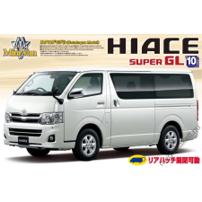 AOSHIMA - Toyota Hiace Super Gl200 2010 Model rc autó